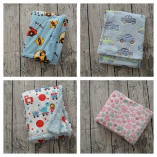 personalisierte Baby-Decken
